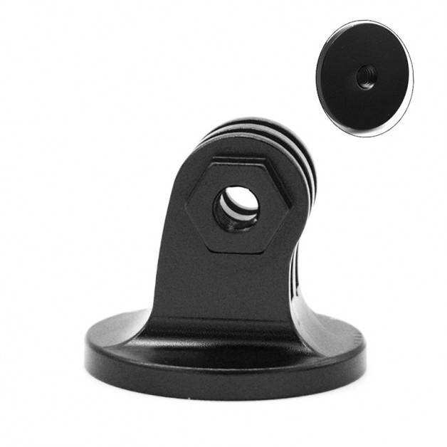 """Adapter Kamerastativ med 1/4"""" skruv till GoPro-Fäste Aluminium"""