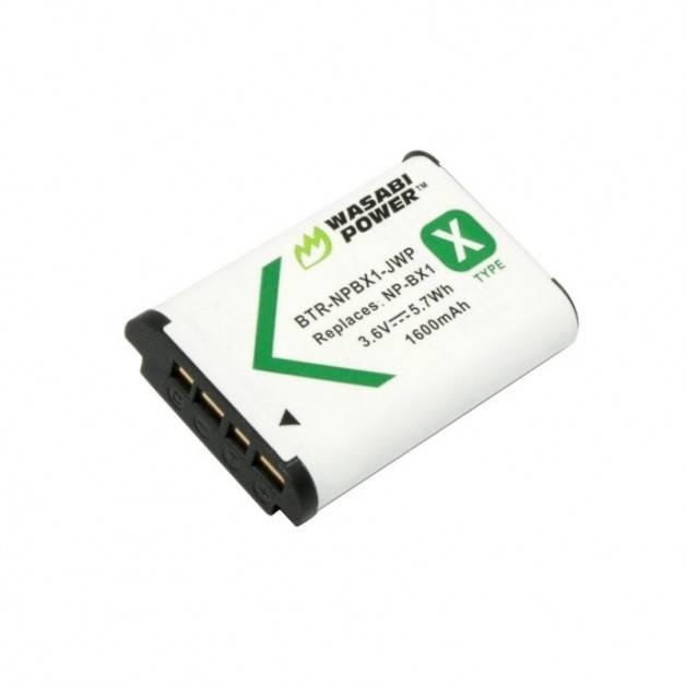 Wasabi Power Batteri till Sony - ersätter Sony NP-BX1 - 1600mAh