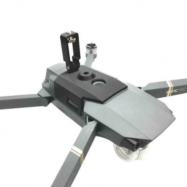 Fäste / hållare för kamera / tillbehör till DJI Mavic Pro - Ovansida - Kit