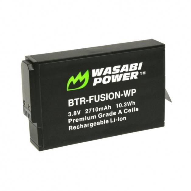 Wasabi Power Batteri till GoPro Fusion - ersätter ASBBA-001 - 2710mAh