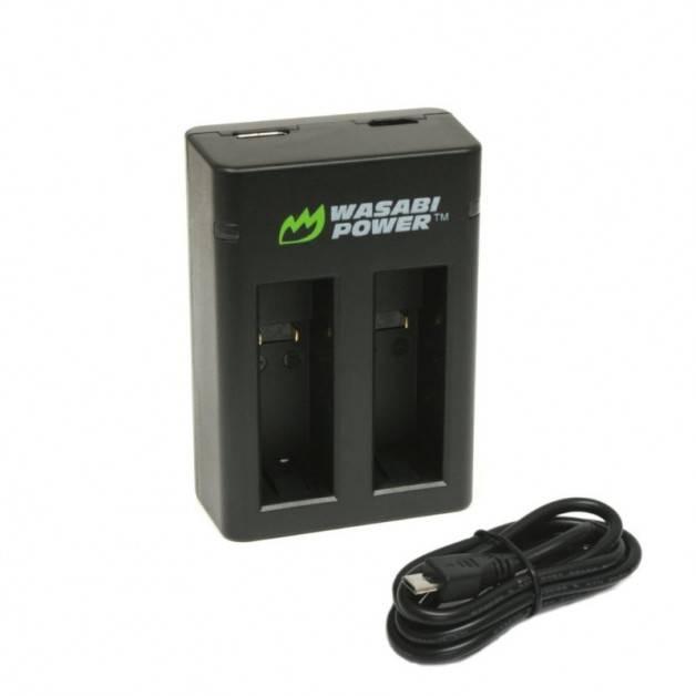 Wasabi Power Batteriladdare för GoPro Fusion batterier - Dubbel ASBBA-001