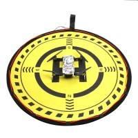Landningsmatta  / platta till drönare - LED-Belysning - Dubbelsidig - Kit