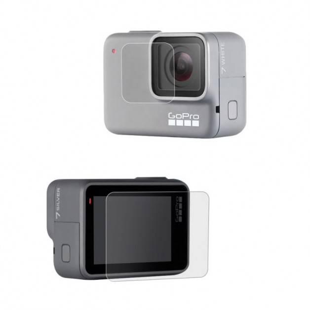 Linsskydd och skärmskydd till GoPro Hero7 Silver/White