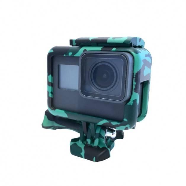 Skyddsram till GoPro Hero5 Kamouflage Skog