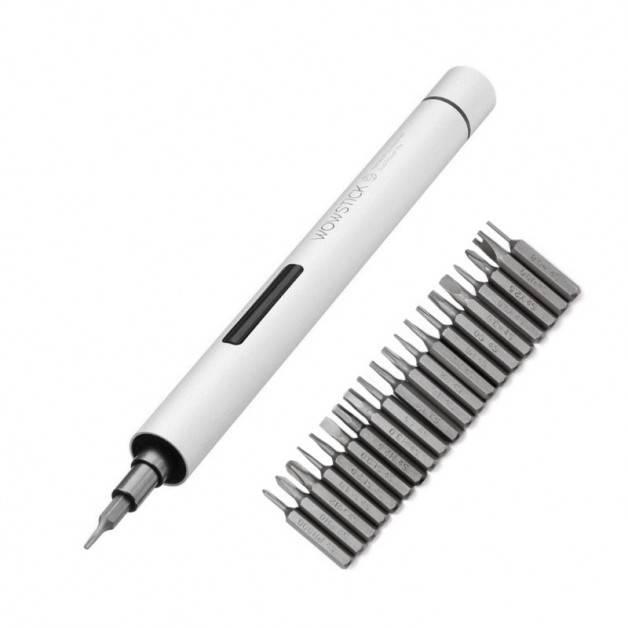 Wowstick 1P+  Elektrisk skruvmejsel - 23 i 1 - Kit - Silvergrå