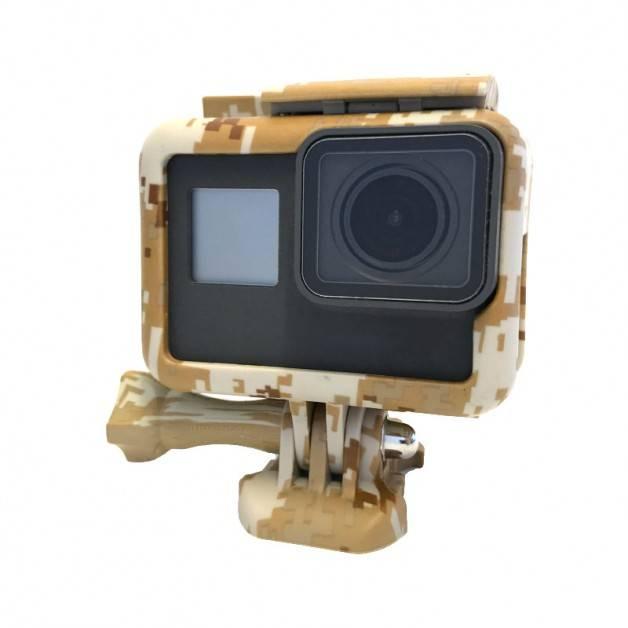 Skyddsram till GoPro Hero5 Kamouflage - Mörk Sand