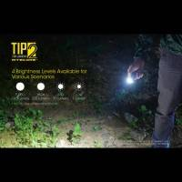 Nitecore TIP2 Ficklampa / Nyckelringslampa - Svart - 720lm