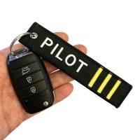 Nyckelband - PILOT III - Svart