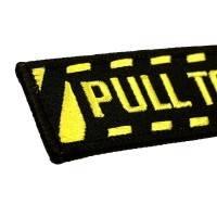 Nyckelband - PULL TO EJECT- Svart/Gul