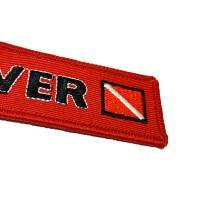 Nyckelband - DIVER - Röd/Svart