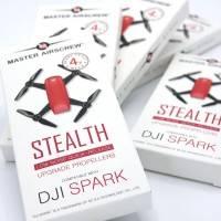 Master Airscrew - DJI Spark Stealth Upgrade Propellers - Propeller till DJI Spark - Svart - Kit 4-Pack