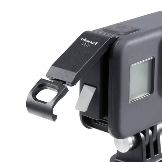 Ulanzi G8-7 Batterilucka med genomföring USB till GoPro Hero8 Black