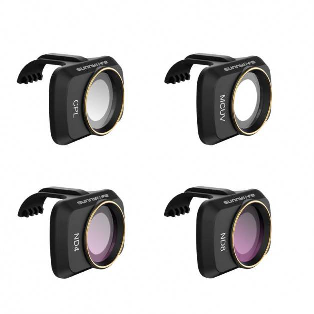 Filter 4-pack - MCUV +  CPL + ND4 + ND8 till DJI Mavic Mini - Kit