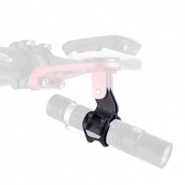 Fäste för ficklampa till GoPro