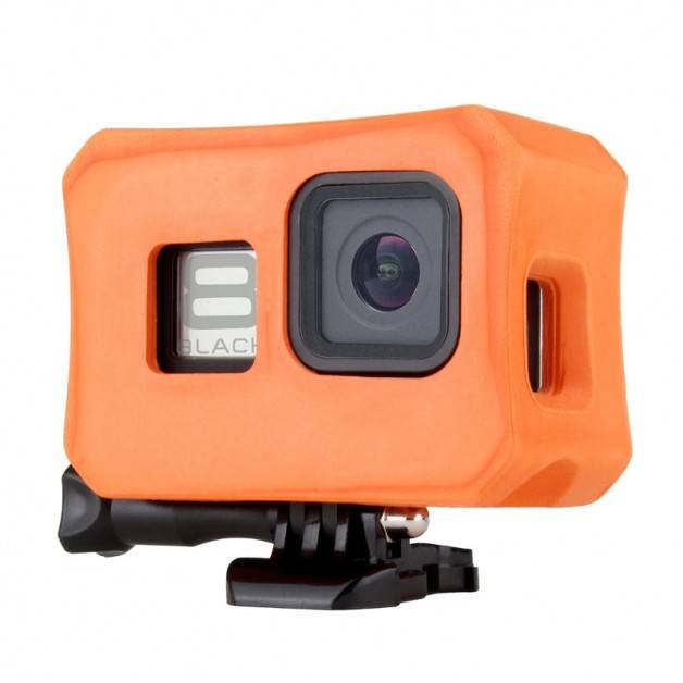 Flytande skyddsskal till GoPro Hero8 Black - Orange