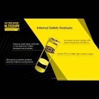 Nitecore NL2150HPR Li-ion 21700 Batteri - 5000mAh, 3,6V, Max 15A, USB-C Laddning