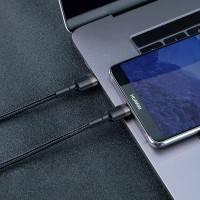 Baseus Cafule USB-C kabel PD 2.0 / QC3.0, 60W, 20v/3A, 2m - Svart