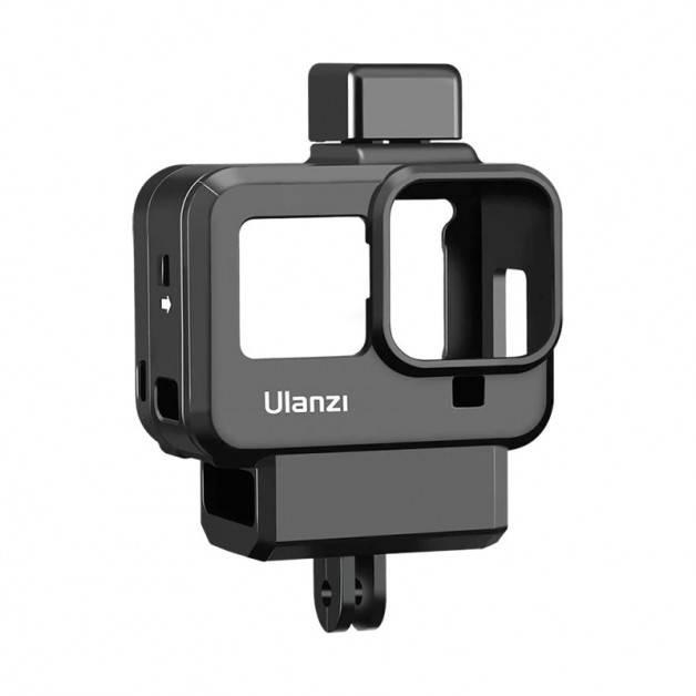 Ulanzi G8-9 Skyddsram Vlog med tillbehörshållare cold shoe till GoPro Hero8 Black