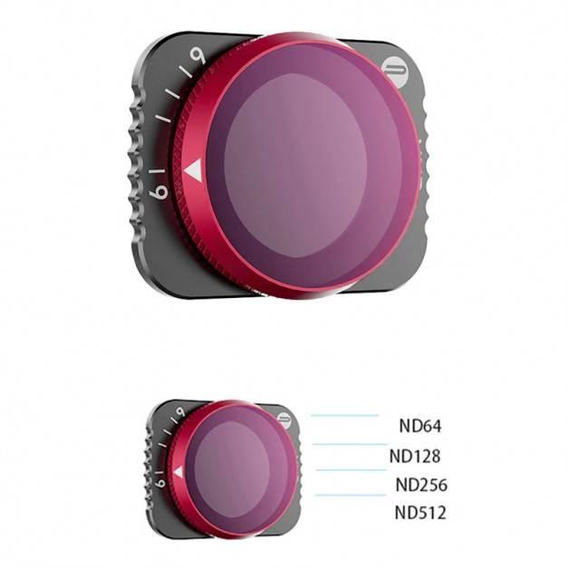 PGYTECH Filter VND, ND64 - ND512, Variabelt ND-värde till DJI Mavic Air 2
