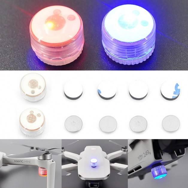 Varningsljus LED för drönare - 2-pack