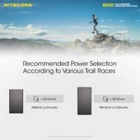 Nitecore NB5000 Power bank - Portabelt batteri - 5000mAh, 2xUSB Typ A/C, QC 3.0 / PD 18W, 5V, 3A - Kolfiber