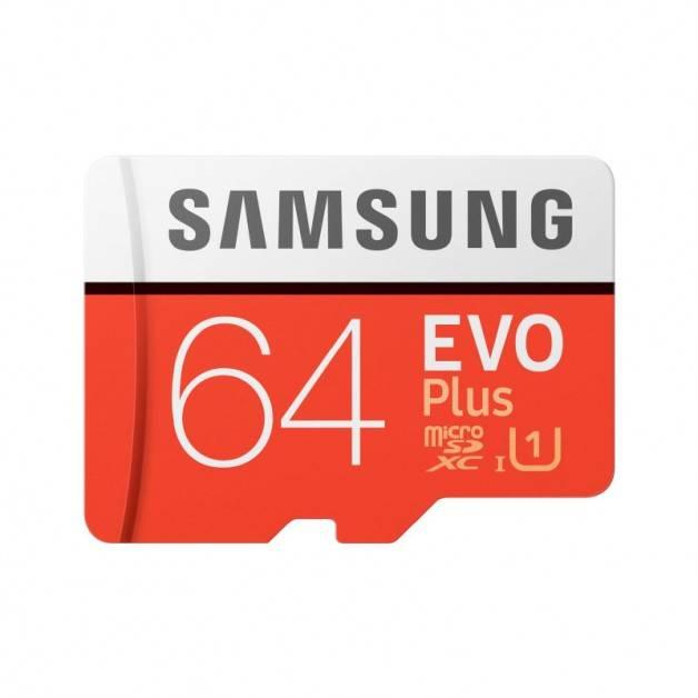 Samsung microSD EVO Plus 64GB (R100/W20 Mb/s) Minneskort SDXC