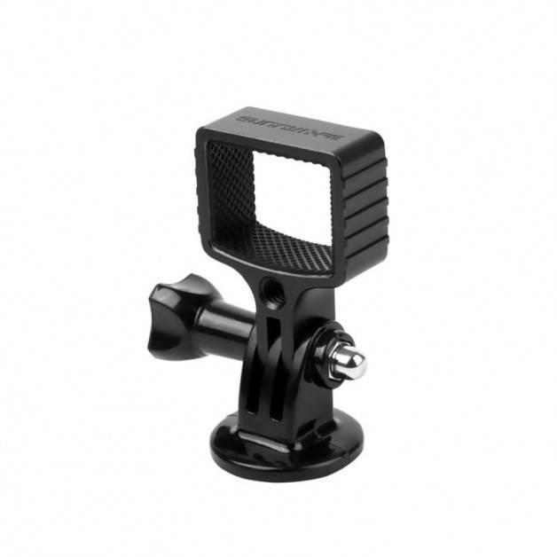 """Adapter Osmo Pocket 2 till GoPro-fäste och 1/4"""" skruvfäste inkl. låsskruv - Aluminium"""