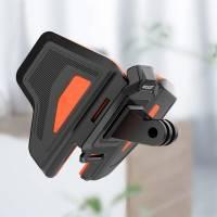 Telesin Fäste för hjälm vid haka - GoPro-fäste - Vikbar