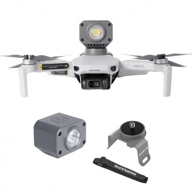 LED-Belysning / Strålkastare för DJI Mavic Mini / Mini 2 - Kit