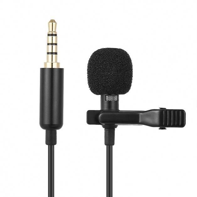 ActionKing Mygga, Mikrofon till Mobil / Kamera / PC - 150cm - TRRS