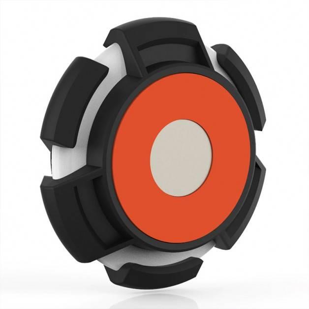 ActionKing Hållare med Magnet och Tejp för Apple AirTag - Svart
