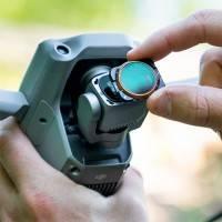 PolarPro Filter VND 2-pack - ND4 - 32 + ND64 - 512, Variabelt ND-värde till DJI Air 2s - Kit