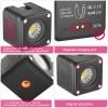 Ulanzi L2 Cute Light Vattentät Belysning LED för foto / video - 800mAh internt batteri - 1000 Lux - Kit