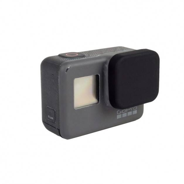 Linsskydd till GoPro Hero5 i Silikon - Svart