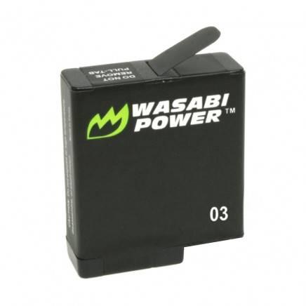 Wasabi Power Batterier och Batteriladdare Dubbel för