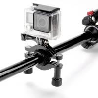 Fäste GoPro till cykelstyre och sadelstolpe - Rör 26-45mm